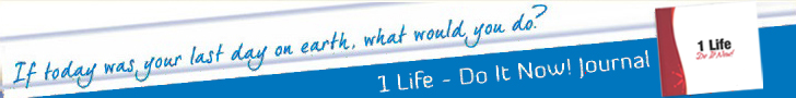 1 Life Do it Now Journal