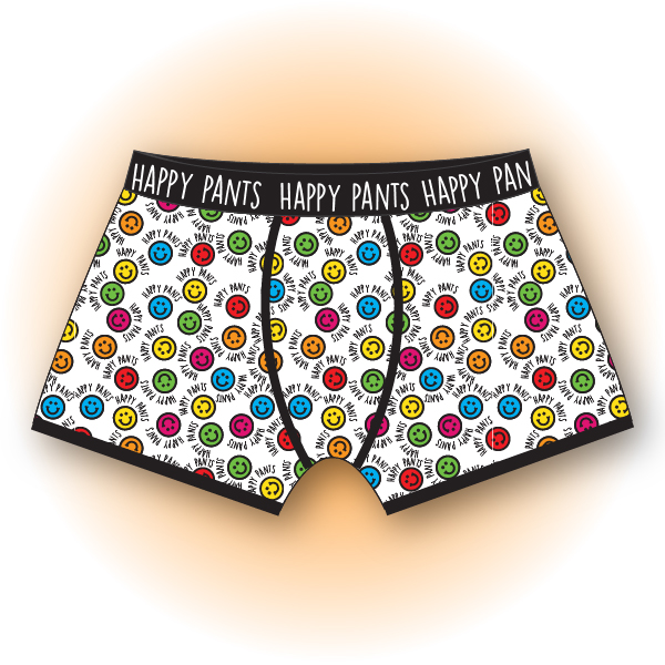 Happy Pants Mens Boxer