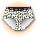 Happy Pants Womens Hipster